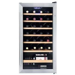 Vissani HVWC28ST 17 in. 28-Bottle Wine Cooler