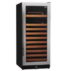 Keystone KBU-100S-SS 100-Bottle Single Zone Wine Cooler