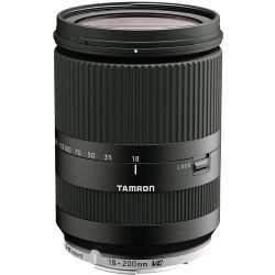 Tamron 18-200mm f/3.5-6.3 Di III VC Lens for Canon EF-M Mount (Black)